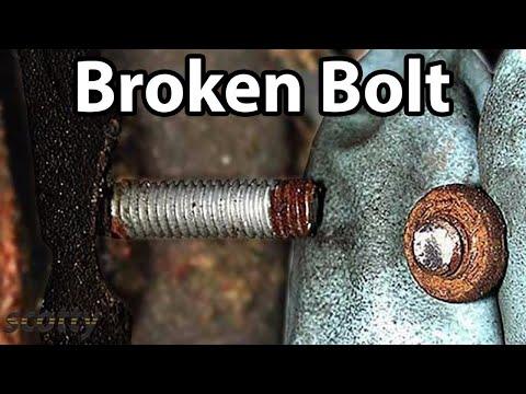 How To Fix A Broken Off Bolt