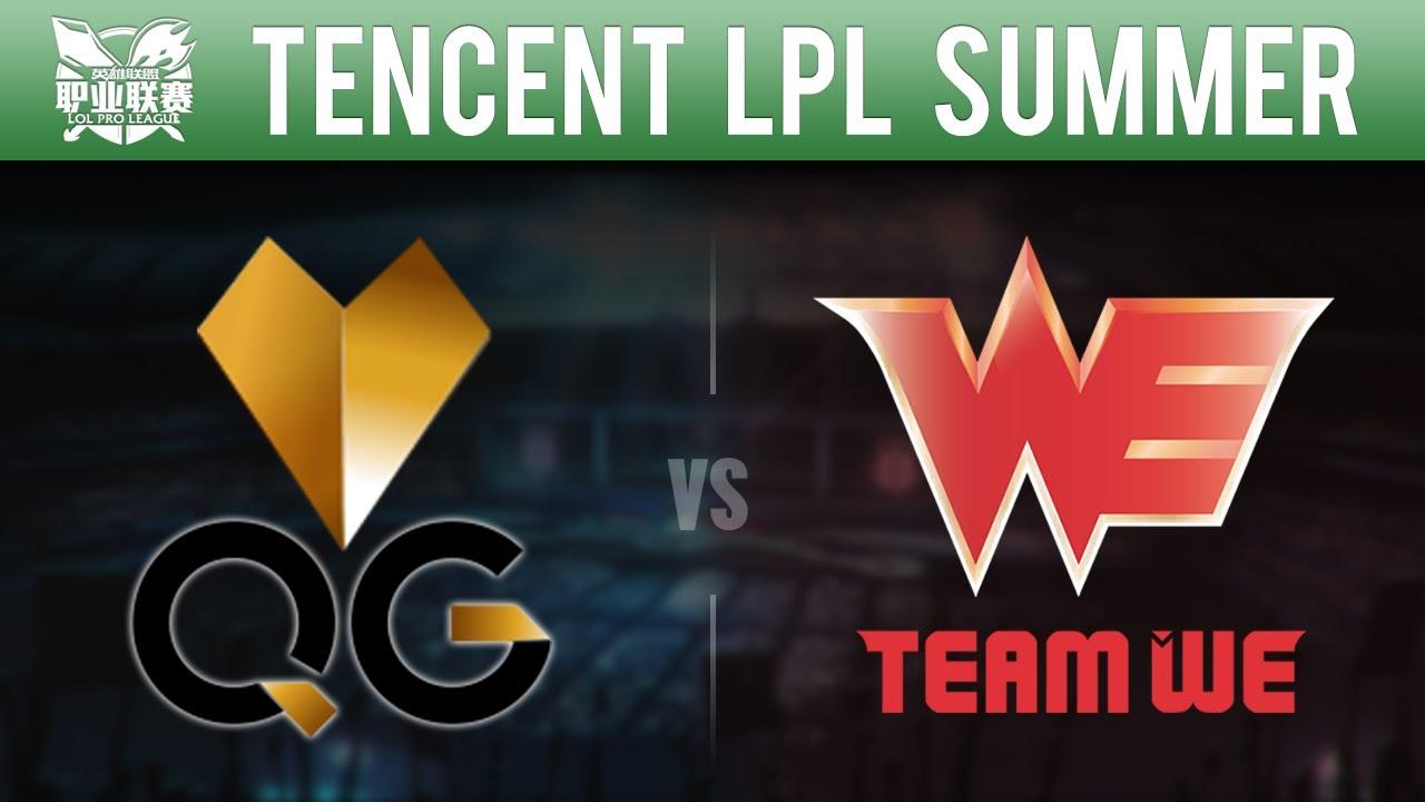 LPL Summer 2015 Week 10 Day 3 - Qiao Gu vs Team WE | Game 1 - QG vs WE W10D3