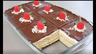 Торт Без Выпечки Много крема и вкусной начинки