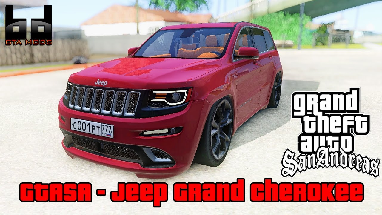 bd gta mods gta sa jeep grand cherokee 2015 download youtube. Black Bedroom Furniture Sets. Home Design Ideas