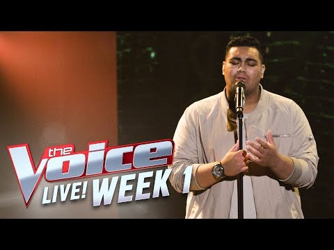 Hoseah Partsch - 'Sorry Seems to be the Hardest Word' | The Voice Australia 2017
