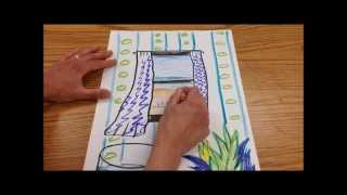 Matisse Windows Drawing Art Project