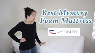 Amerisleep Independence Bed - Best Memory Foam Mattress - $50 Promotion Link Reviews