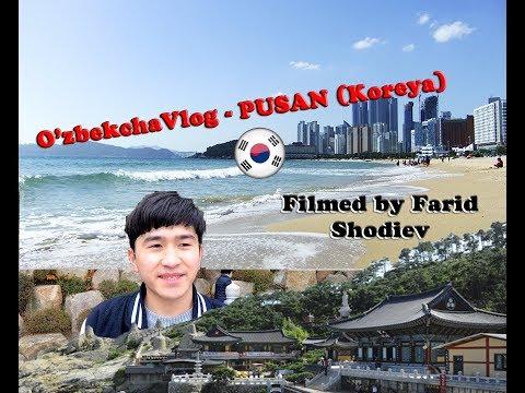 O'zbekcha vlog #3 -Pusan shahri (1 qism) yoxud 2 vlog qani?