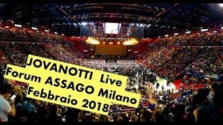 Jovanotti Live - Forum Assago Milano 2018