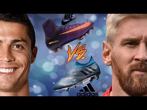 Ronaldo vs Messi ● Nike vs Adidas ● Boot Battle 2017 |HD
