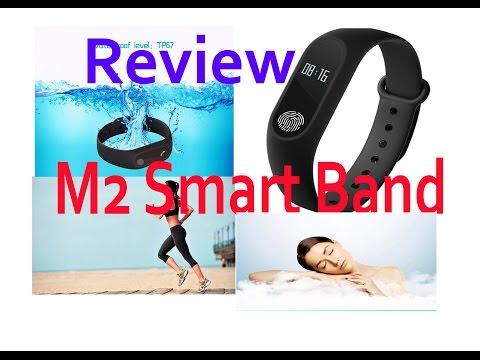 Smart Wristband M2 Smart Band Water Proof Fitness Tracker Smart