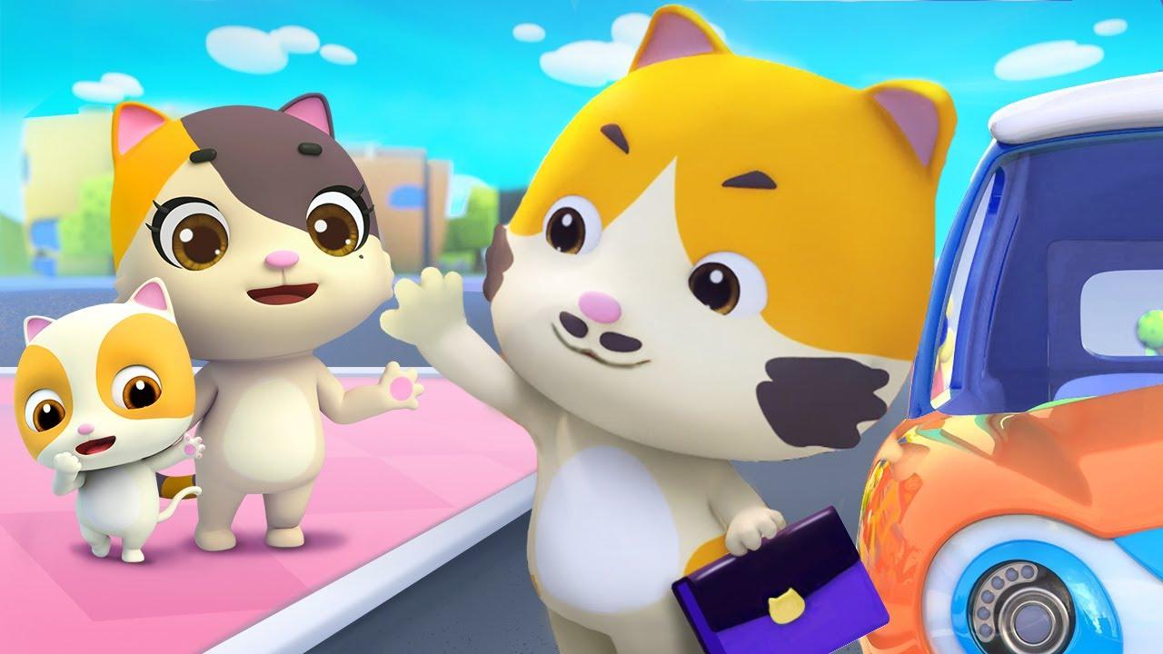 パパ いつもぼくに会いたいかな❤   ねこちゃんと歌おう   赤ちゃんが喜ぶ歌   子供の歌   童謡   アニメ   動画   ベビーバス  BabyBus