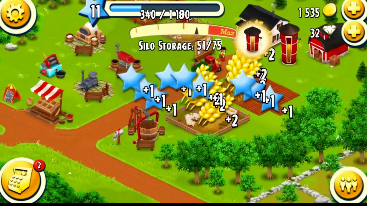 Let's Play Hay Day! How to Harvests Crops & Products Effectively Level 10 & Level 11