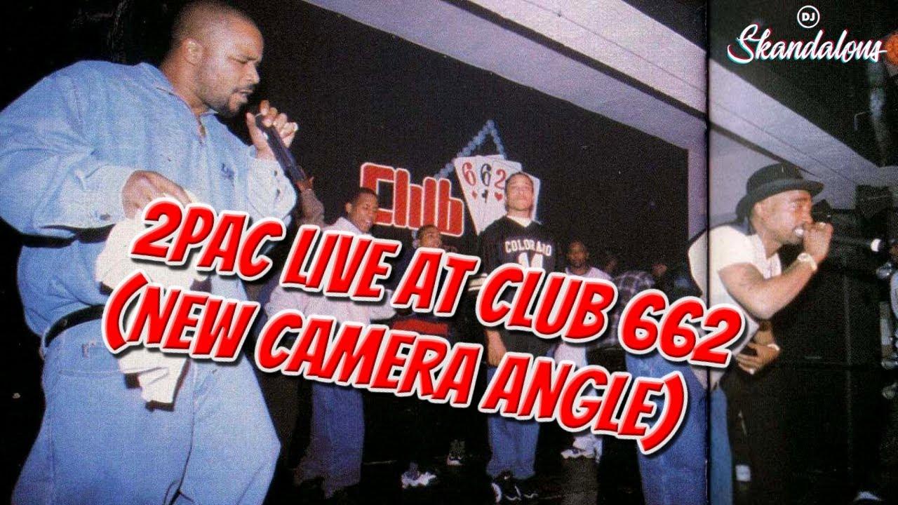 2Pac Live At Club 662 (2020 New Single Shot Camera Angle)