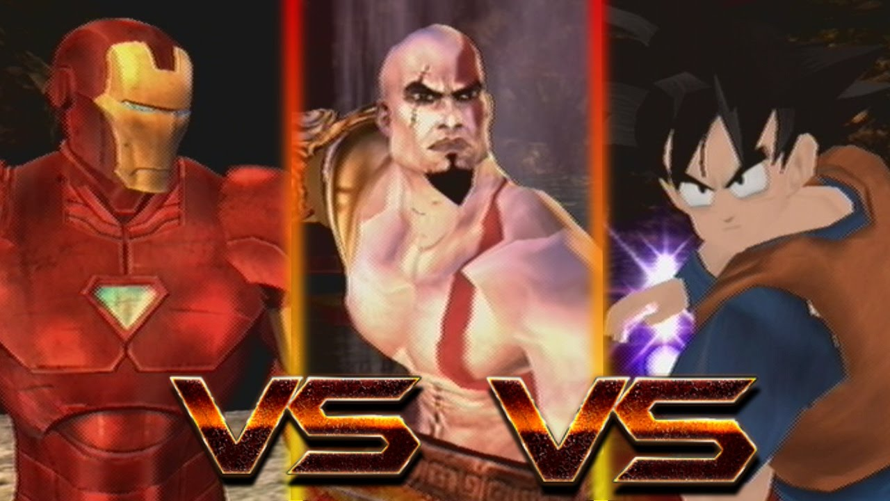kratos vs goku wwwpixsharkcom images galleries with