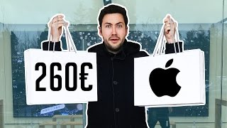 J'achète 260€ de Produits Apple Rares ! (Introuvables en France)