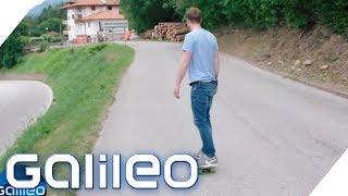 Die Geisterstraße Südtirols - Hier rollt alles bergauf | Galileo | ProSieben