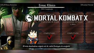 Mortal Kombat X Android Desafio / Challenge Ermac Klasico Normal