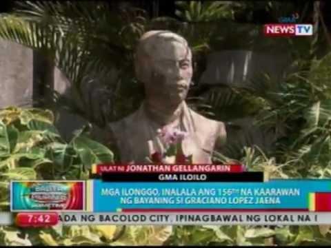 BP: Mga Ilonggo, inalala ang 156th na kaarawan ng bayaning si Graciano Lopez Jaena