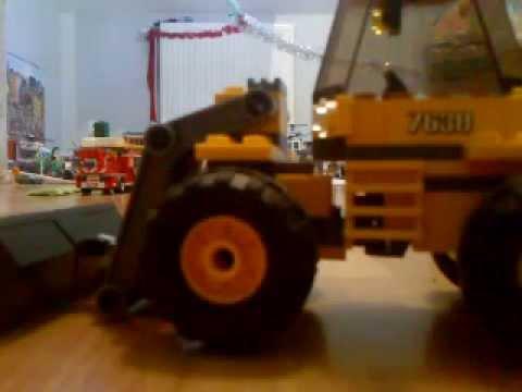 le camion de travaux 7630 de lego city youtube. Black Bedroom Furniture Sets. Home Design Ideas