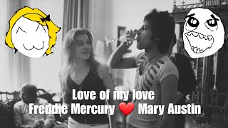 "Kisah cinta Mary Austin, ""Love of My Life"" nya Freddie Mercury Queen"