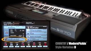 YAMAHA PSR - S970 Workshop 12 (Styles Nur Mit Akustik-Gitarre)
