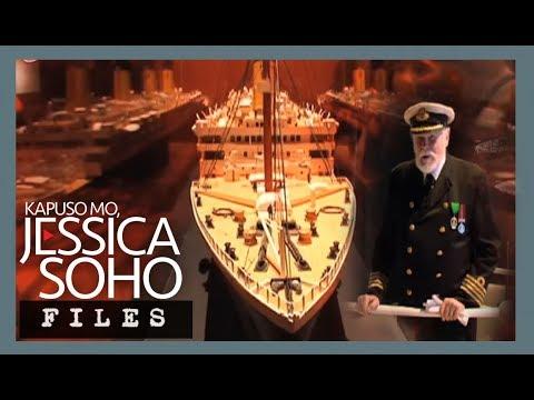 Titanic artifacts, naka-display sa isang museo sa Singapore