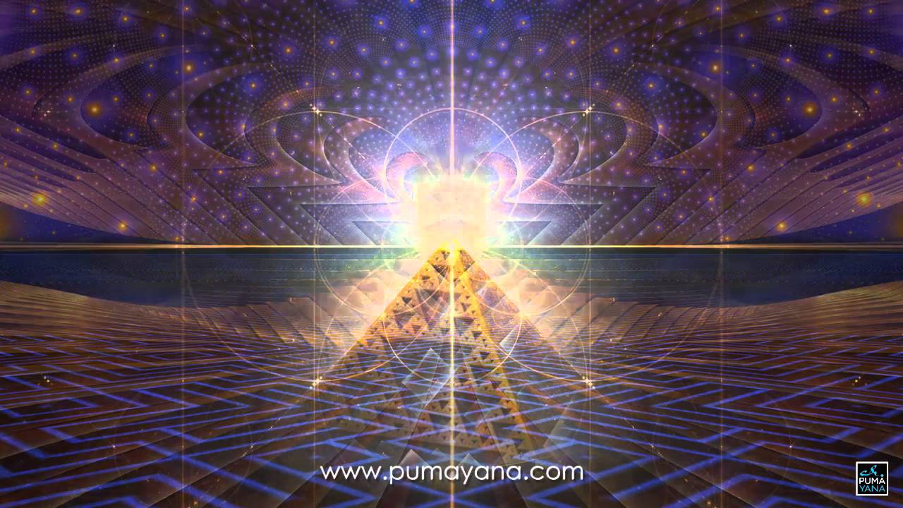 Pumayana Light Activation Sample #001 - Visionary Art, Psychedelic Art,  Healing Art