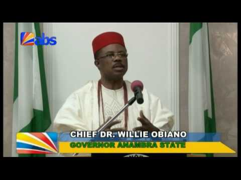 Gov Willie Obiano`s Broadcast on Anambra at 25