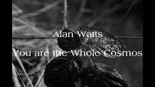 Alan Watts - You are the Whole Cosmos