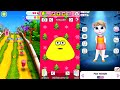 My Talking Angela Vs Pou Vs Strawberry Shortcake: Berry Rush || Android Gameplay HD