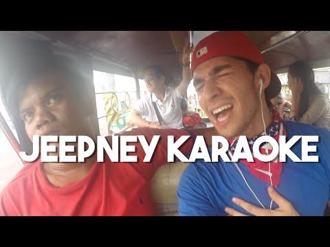 Jeepney Karaoke (Vlog 1 - Foreigner sings in traffic Philippines)