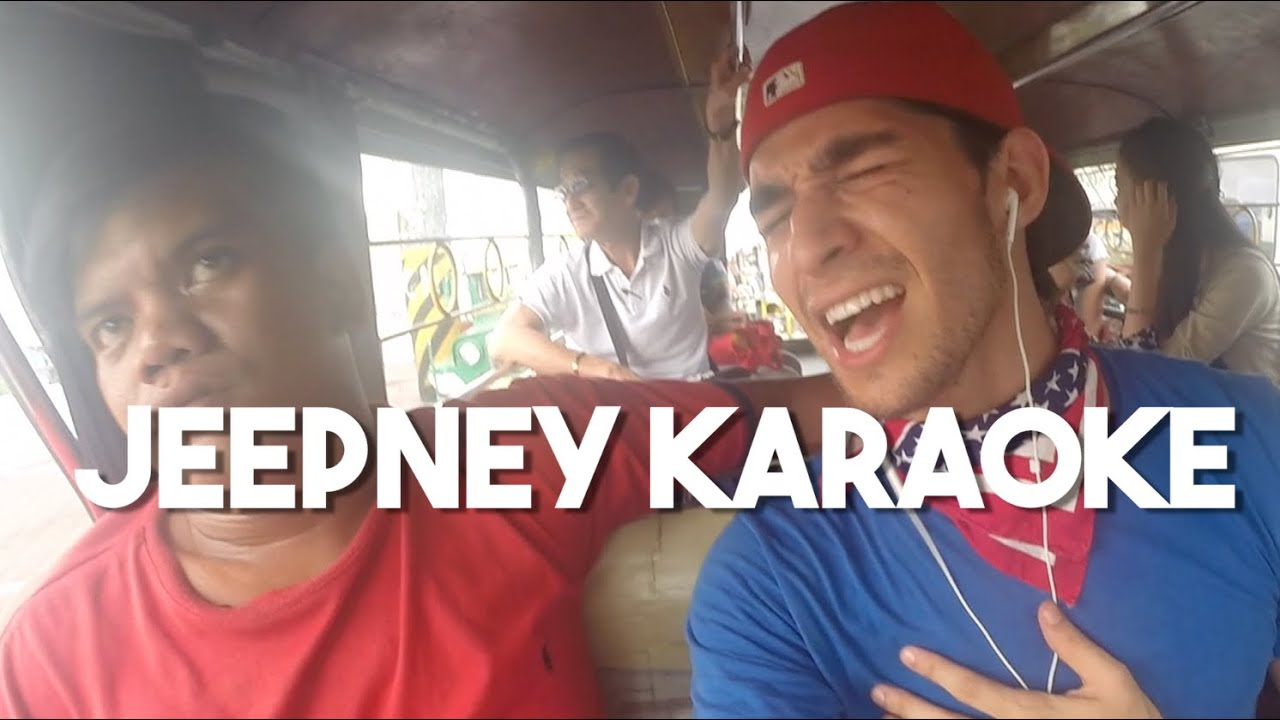 Jeepney Karaoke (Vlog 1 - Foreigner sings in traffic Philippines)