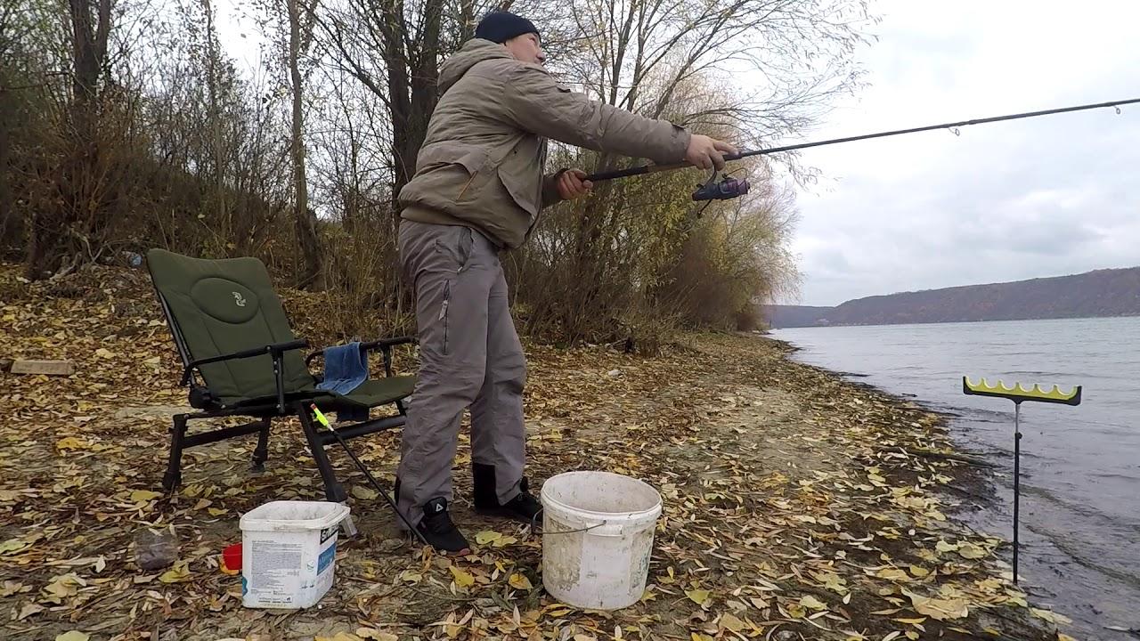 Ловля плотви пізно восени на Дністрі