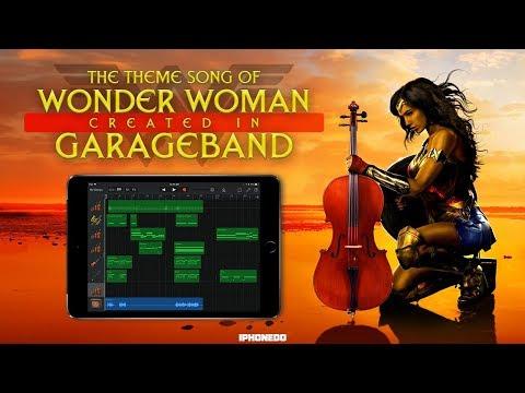 Wonder Woman Theme Song — Created In GarageBand [4K]