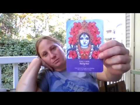 Infinite Ascension - Card pull for Infinite Ascension group - Kali Ma - Impromptu channeling
