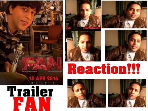2016 Movie Offical   2 REACTION &  Shah Rukh Khan & Mariola Jaworska