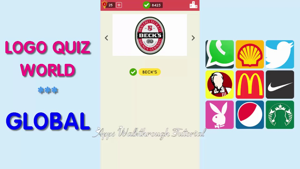 logo quiz world global