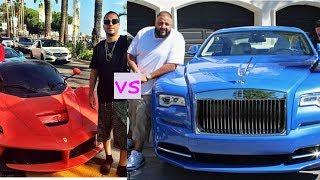 french montana cars vs dj khaled cars 2018