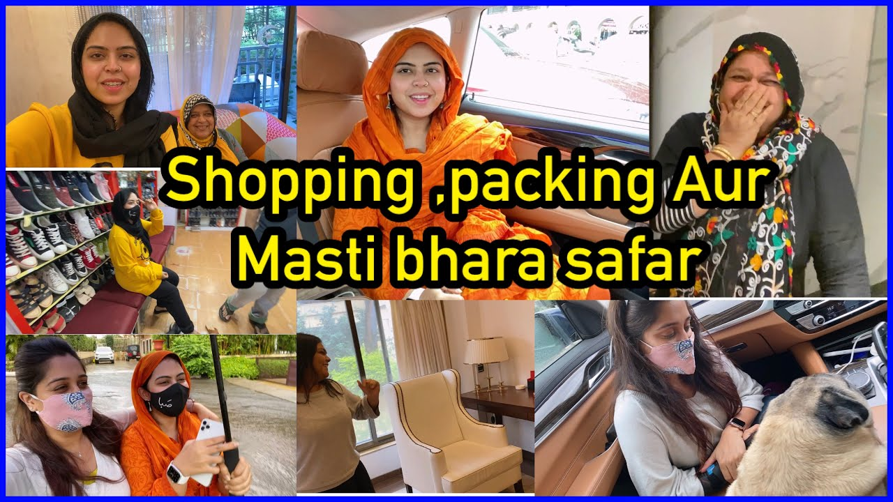 Prank | shopping & fun while travelling | we got so excited for the bathroom | ibrahim family | vlog
