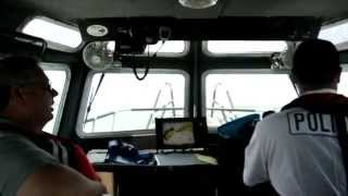 A ride on a Environmental Police Patrol Boat