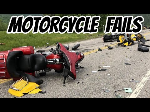 How To Survive A Crash / Motorcycle Fails