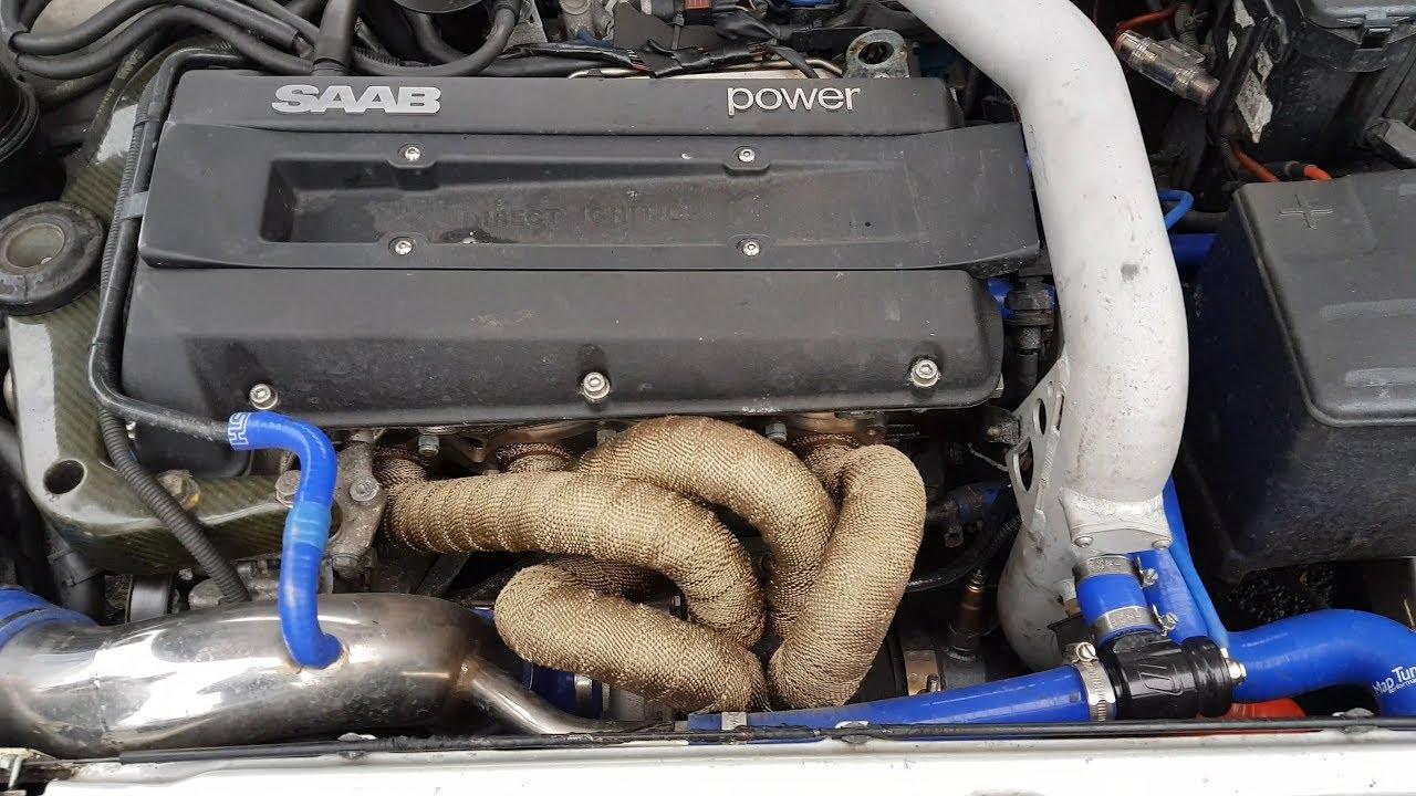 saab 2.3 turbo pistons