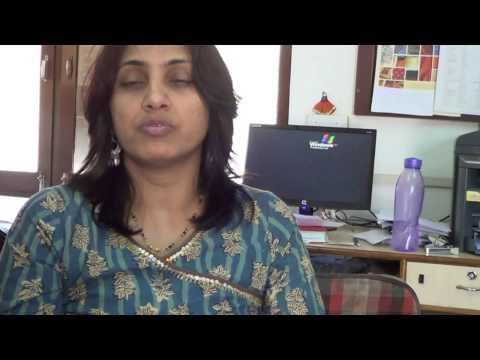 Sunita describing the economic and social benefits for women in their programs