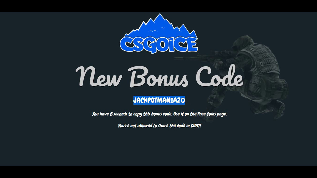 csgoice бонус коды