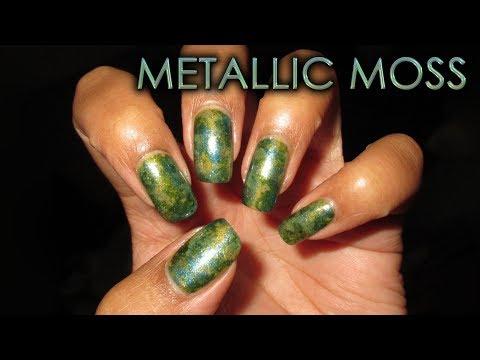Metallic Moss | DIY Nail Art Tutorial