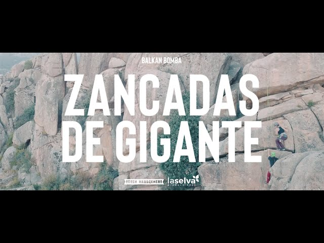 BALKAN BOMBA | Zancadas de Gigante | Ft. Juankar de Boikot (Videoclip Oficial)