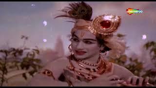मुरली मनोहर कृष्ण कन्हैया | गोपी कृ. | संध्या | लता | मन्ना | Jhanak Jhanak Payal Baje - HD Video