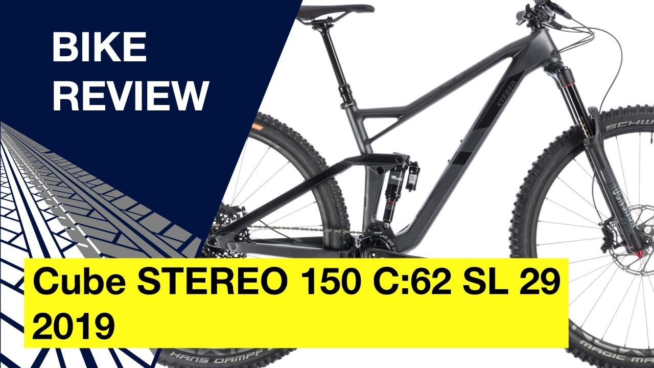 fashion style well known large discount Cube STEREO 150 C:62 SL 29 2019: Bike review