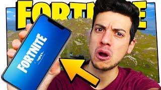 📱 FORTNITE ON SMARTPHONE!! (MOBILE REAL ITA BATTLE) !! 📱