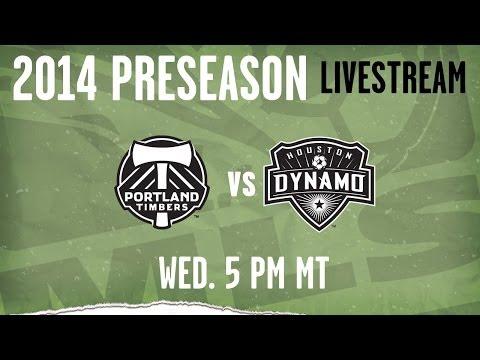 Houston Dynamo vs. Portland Timbers | 2014 MLS Preseason