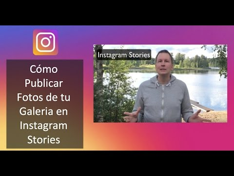Instagram Stories - Cómo Publicar Fotos de tu Galeria en Instagram Stories