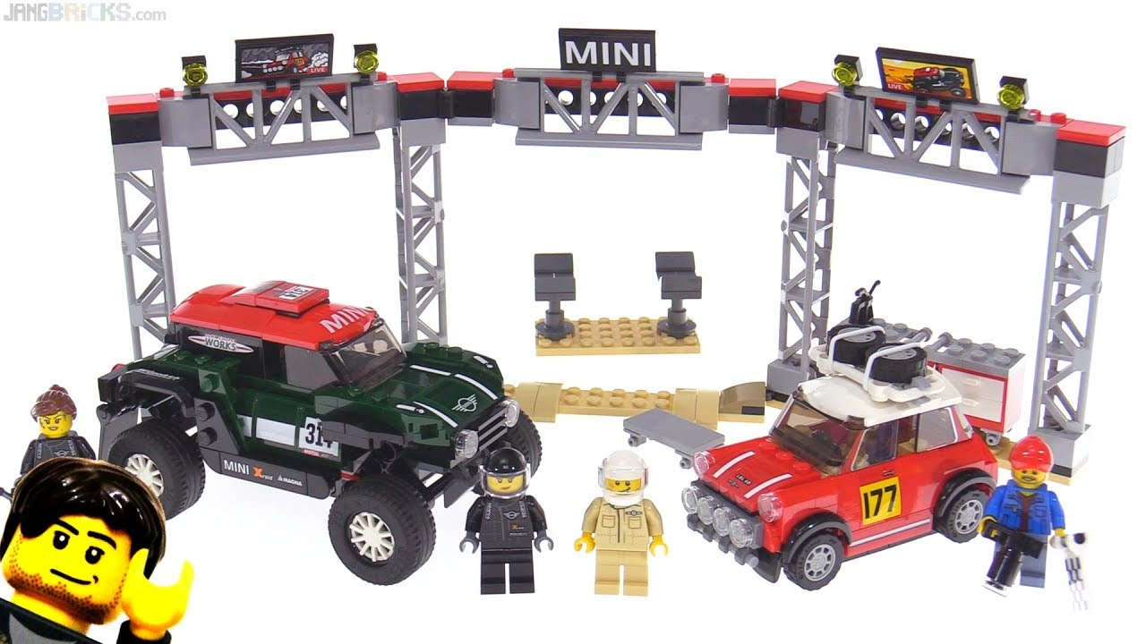 lego speed champions mini cooper 1967 2018 rally set. Black Bedroom Furniture Sets. Home Design Ideas