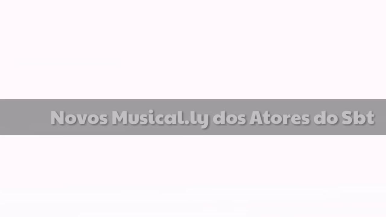 Download Novos musically -  dos atores e atrizes do sbt